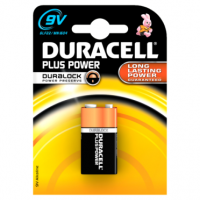 Duracell Plus Power 9V-Battery Alkaline 1x Pack