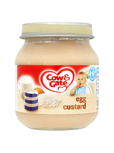 Cow & Gate Egg Custard from 4-6m Onwards 125g