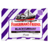 Fisherman s Friend Blackcurrant Menthol Flavour Lozenges with Sweeteners 25g