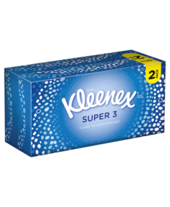 Kleenex Super 3 Tissues Twin Pack