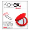 Kotex Sanitary Towels Ultra Thin x 16
