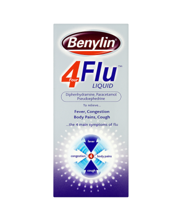 Benylin Four Flu Liquid 200ml