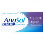 Anusol Plus HC Suppositories 12 Suppositories