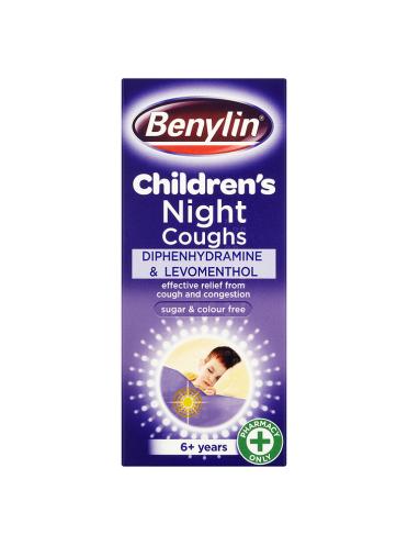 Benylin Children's Night Coughs 6+Years 125ml
