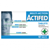 Actifed Multi-Action Tablets 12 Tablets