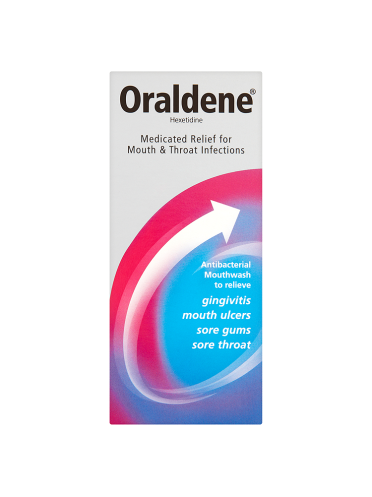Oraldene Medicated Relief for Mouth & Throat Infections 200ml
