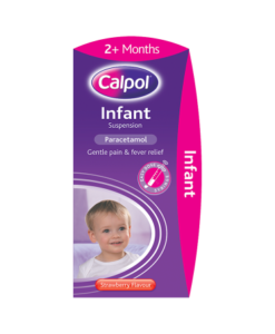 Calpol Infant Suspension Strawberry Flavour 2+ Months 200ml