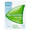 Nicorette Microtab Original 2mg Nicotine 100 Sublingual Tablets