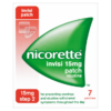Nicorette Step 2 Invisi 15mg Patch Nicotine 7 Patches
