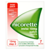Nicorette Step 3 Invisi 10mg Patch Nicotine 7 Patches