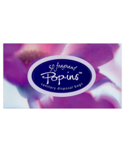 Pop-ins 50 Fragrant Sanitary Disposal Bags