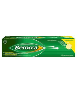 Berocca Tropical Flavour 15 Effervescent Tablets