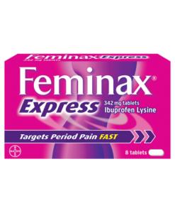 Feminax Express 342mg Tablets 8 Tablets