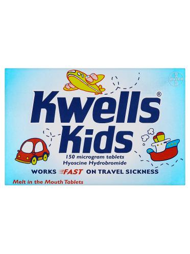 Kwells Kids 150 Microgram Tablets 12 Tablets