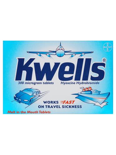 Kwells 300 Microgram Tablets 12 Tablets