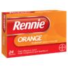 Rennie Orange Chewable 24 Tablets