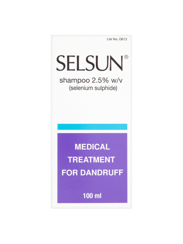 Selsun Shampoo 2.5% w/v 100ml