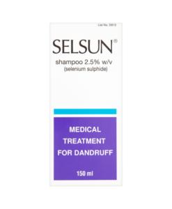 Selsun Shampoo 2.5% w/v 150ml