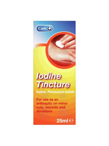 Care Iodine Tincture 25ml