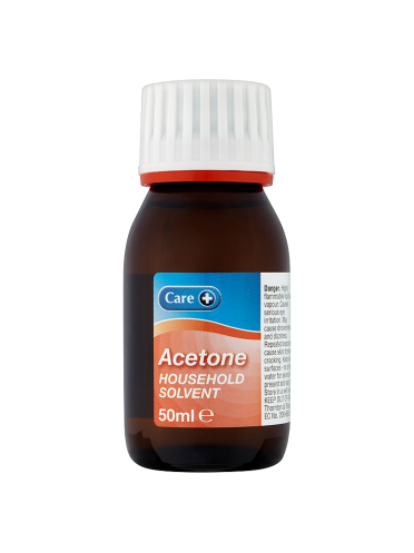 Care Acetone Household Solvent 50ml