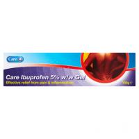Care Ibuprofen 5% w/w Gel 100g