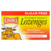 Covonia Sugar Free Double Impact Lozenges Strong Original 30g