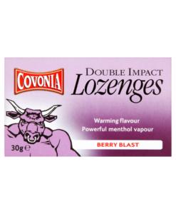 Covonia Double Impact Lozenges Berry Blast 30g