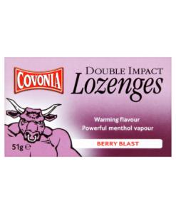 Covonia Double Impact Lozenges Berry Blast 51g