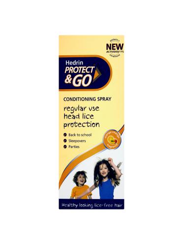 Hedrin Protect & Go Conditioning Spray Orange+Mango Fragrance 120ml