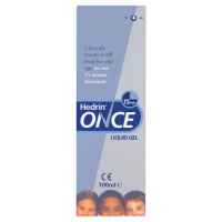 Hedrin Once Liquid Gel 100ml
