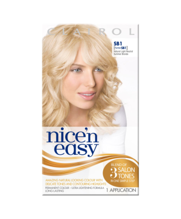 Nice 'n Easy Permanent colour #SB1 Natural Light Neutral Summer Blonde (Former shade #SB1)