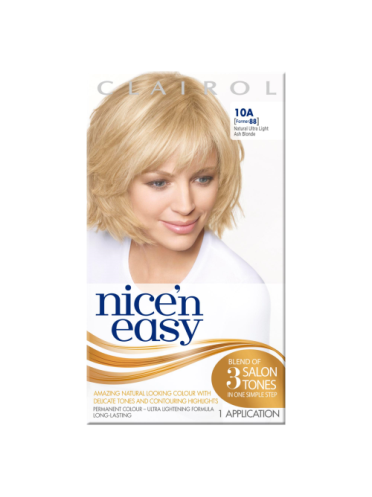 Nice 'n Easy Permanent colour #10A Natural Ultra Light Ash Blonde (Former shade #88)