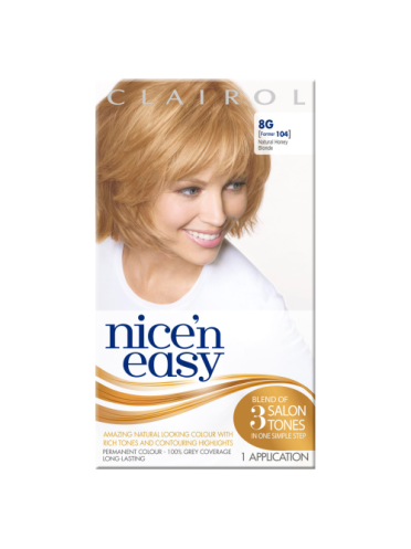 Nice 'n Easy Permanent colour #8G Natural Honey Blonde (Former shade #104)