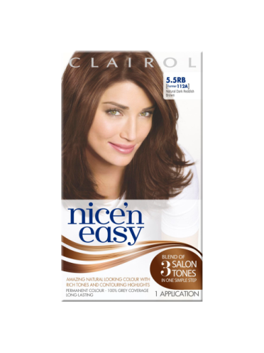 Nice 'n Easy Permanent colour # 5.5RB Natural Dark Reddish Brown (Former shade #112A)