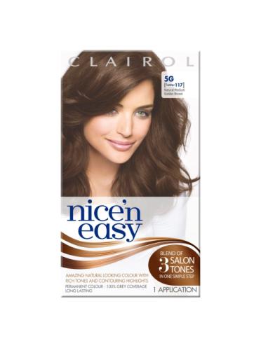 Nice 'n Easy Permanent Hair Colour Natural Medium Golden Brown #5G