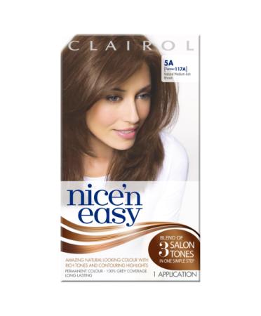Nice 'n Easy Permanent colour #5A Natural Medium Ash Brown (Former shade #117A)