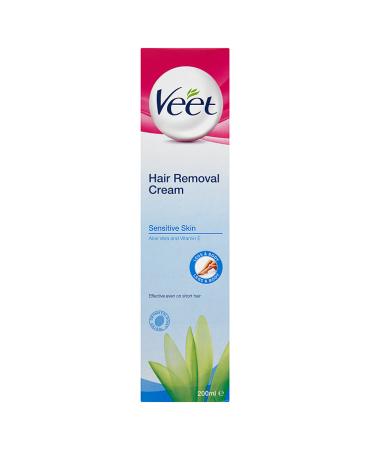 Veet Hair Removal Cream Sensitive Skin Aloe Vera and Vitamin E 200ml