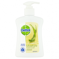 Dettol Moisture Hand Wash with Aloe Vera & Milk Protein 250ml