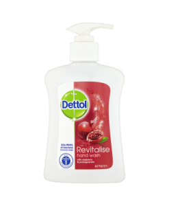 Dettol Revitalise Hand Wash with Raspberry & Pomegranate 250ml