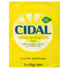 Cidal Natural Antibacterial Soap 2 x 125g Bars