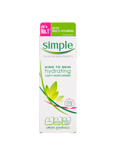 Simple Kind to Skin Hydrating Light Moisturiser 125ml