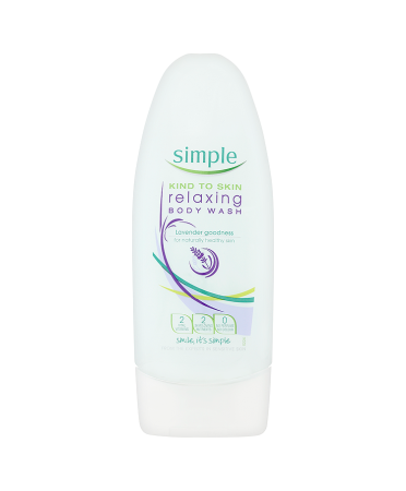 Simple Kind to Skin Relaxing Body Wash 250ml