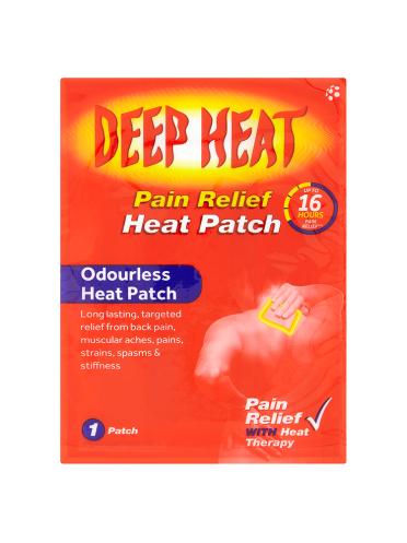 Deep Heat Pain Relief Heat Patch