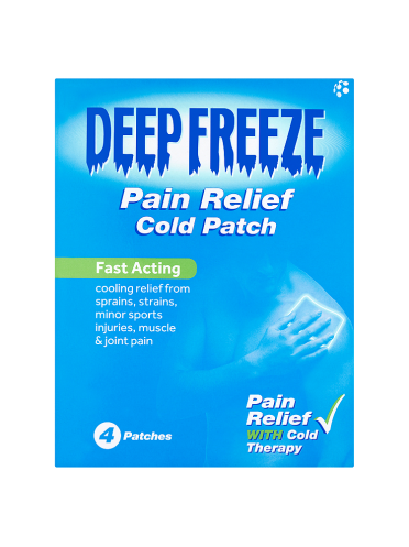 Deep Freeze Pain Relief Cold Patch 4 Patches