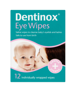 Dentinox 12 Eye Wipes