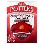 Potter's Chesty Cough Pastilles Non-Drowsy 20 Pastilles