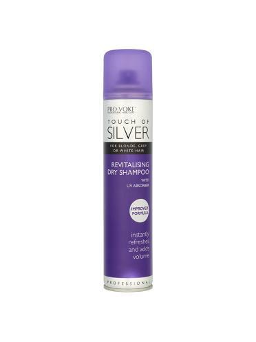 PRO:VOKE Touch of Silver Revitalising Dry Shampoo 200ml