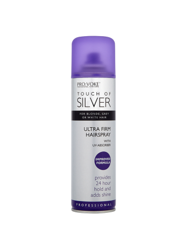 PRO:VOKE Touch of Silver Firm Hairspray with UV Absorber 250ml