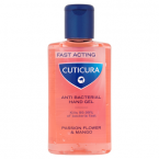 Cuticura Fast Acting Anti Bacterial Hand Gel Passion Flower & Mango 100ml