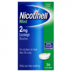 Nicotinell Mint 2mg Lozenge Extra Strength Lozenge 36 Lozenges